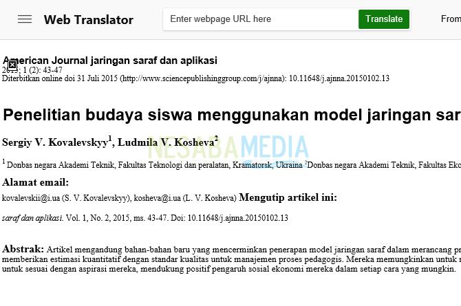hasil terjemahan PDF