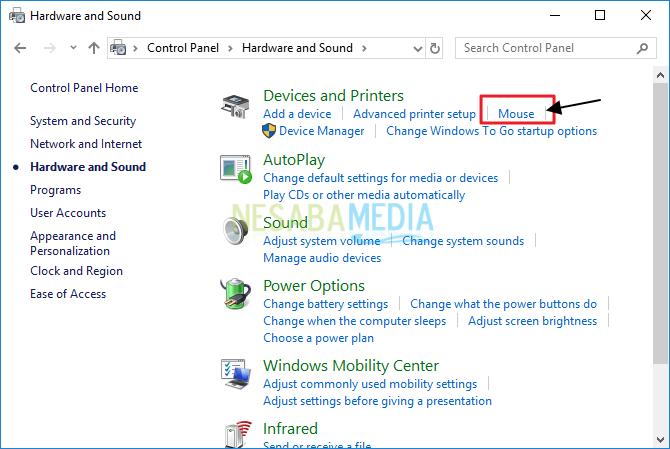 cara mematikan touchpad laptop saat mouse terpasang