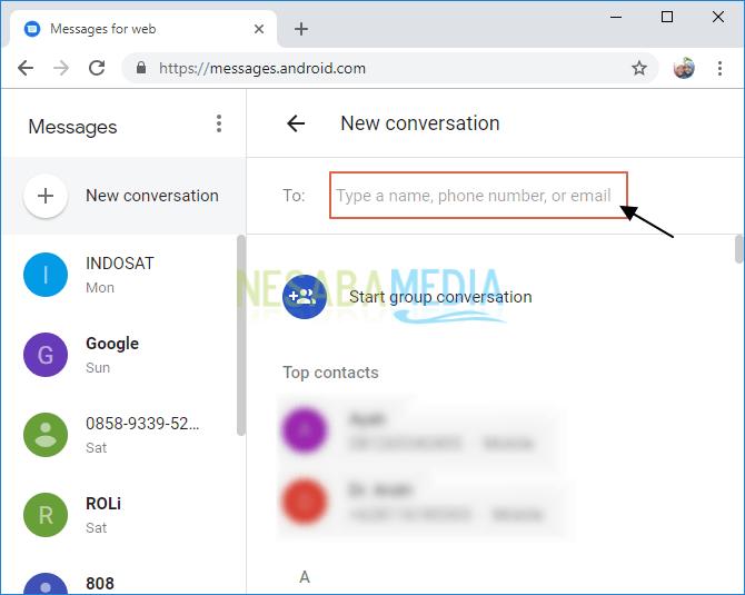 Ketik nama, email atau nomor telepon