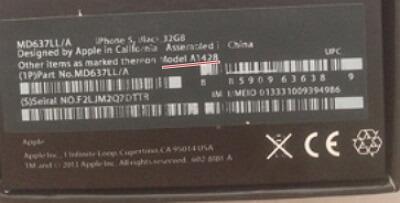cek model iphone dari kotaknya