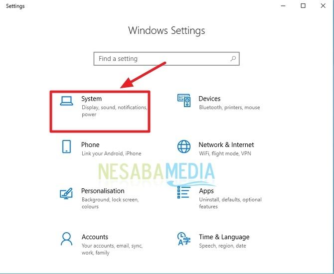 cara menjadikan Windows 10 menjadi Wireless Display