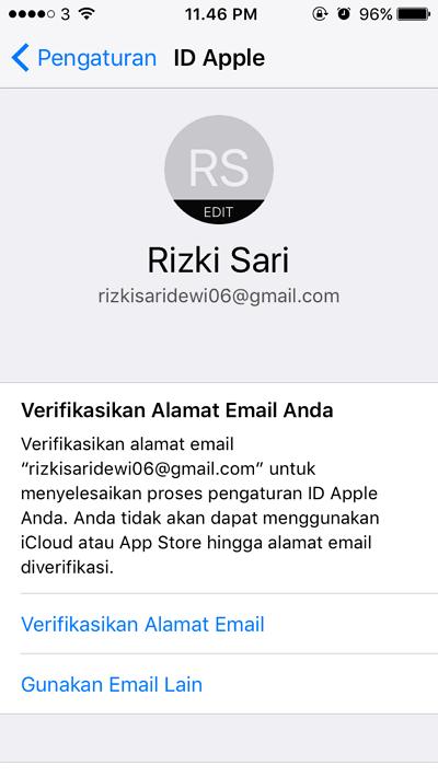 id apple selesai di buat