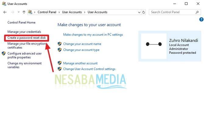 cara mengatasi lupa password di Windows 10 untuk pemula