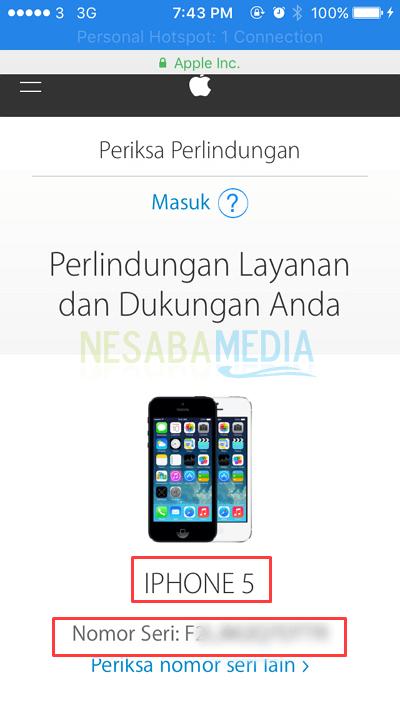 Cara Cek Garansi iPhone Online yang Asli