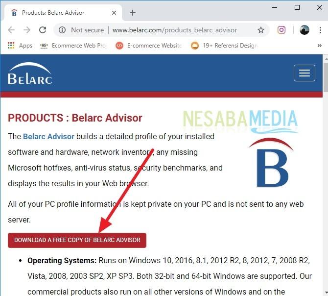 cara menemukan product key / lisensi Windows