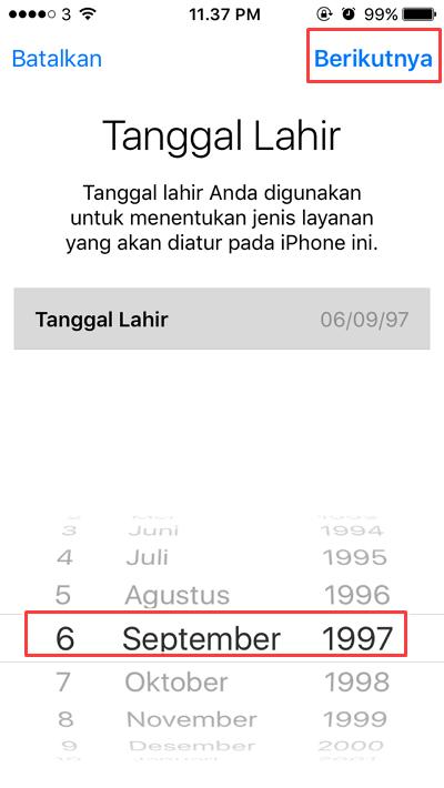 Panduan Cara Membuat ID Apple di Iphone