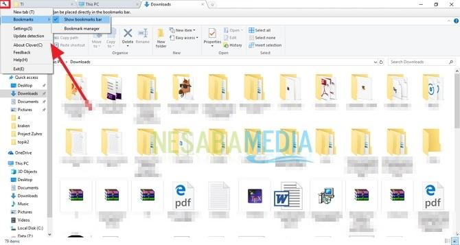 Cara Menambahkan Tab di File Explorer Windows