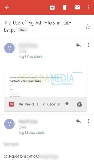 cara meneruskan email di Gmail