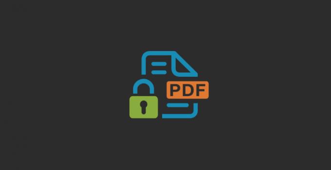 Cara Melindungi Halaman File PDF dari Copy Paste