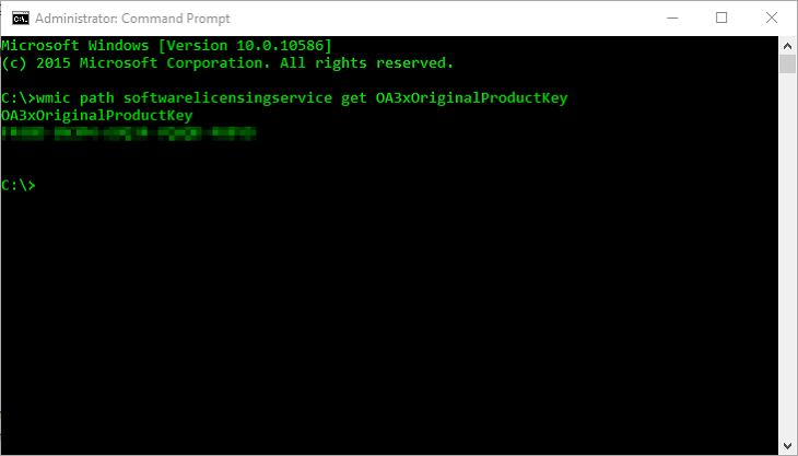 Cara Menemukan Product Key Lisensi Windows