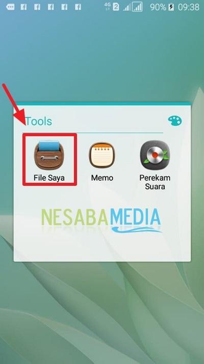 cara menyembunyikan file / folder di HP Android