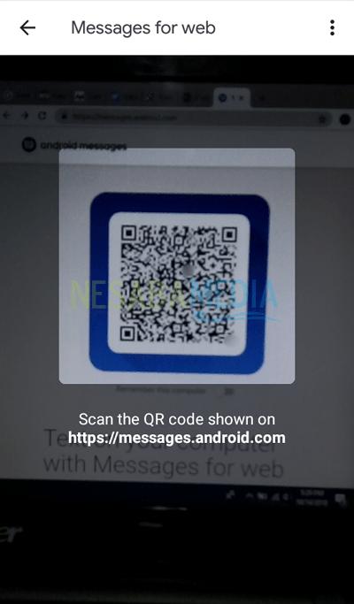 Langkah 8 - Scan QR Code