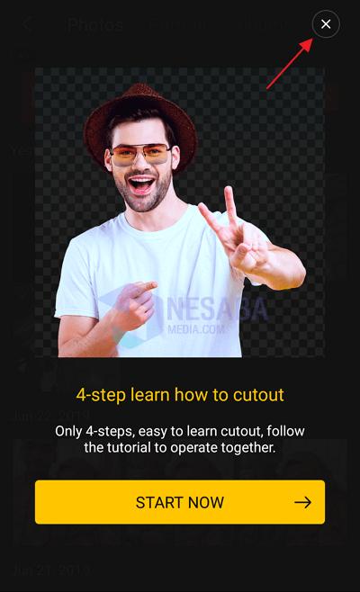 Menggunakan Aplikasi Cut Cut 4