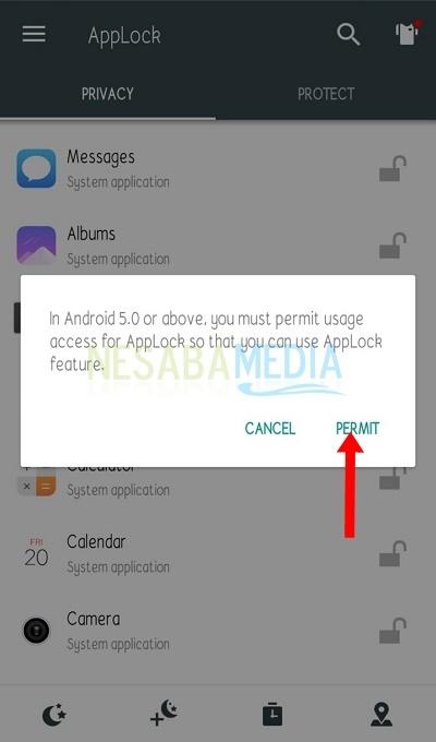 cara mengunci BBM di Android