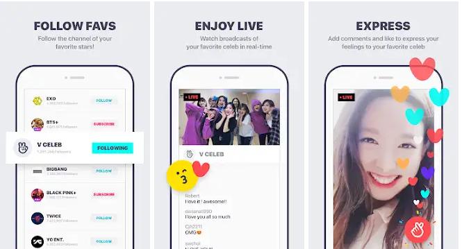 Aplikasi untuk Kpopers - V Live
