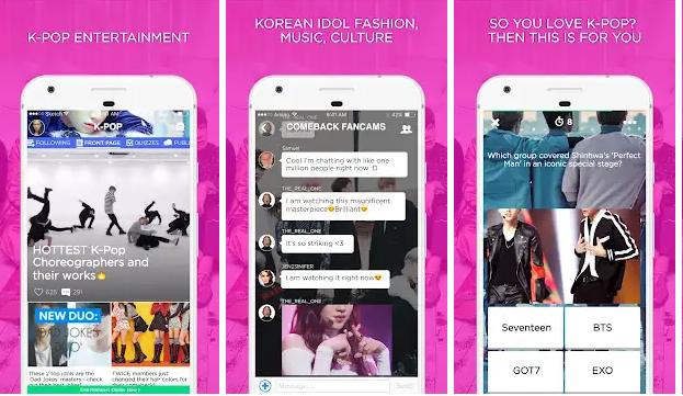 Aplikasi untuk Kpopers - K-Pop Amino