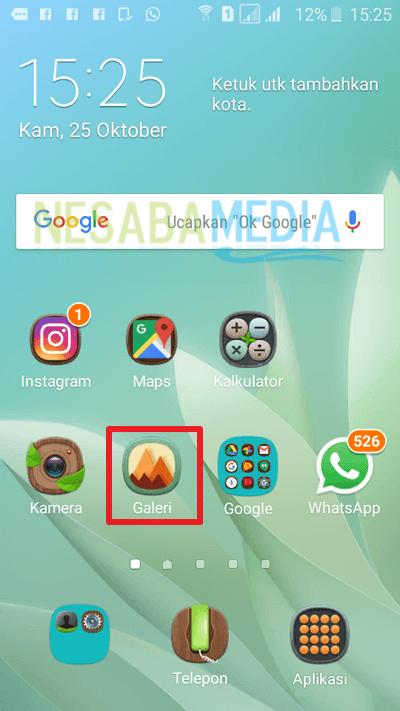 Cara Screenshot HP Samsung