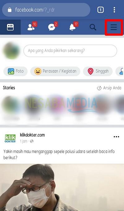 cara mengunci foto di facebook