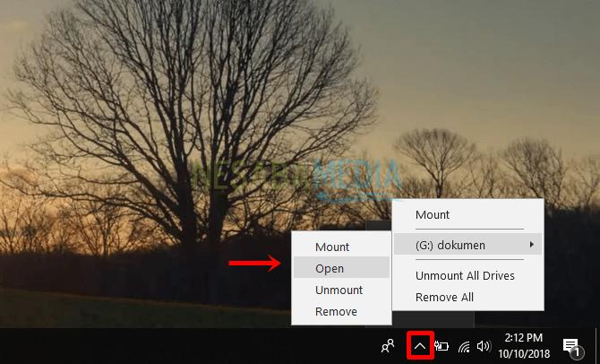 cara mount file ISO dengan Daemon Tools
