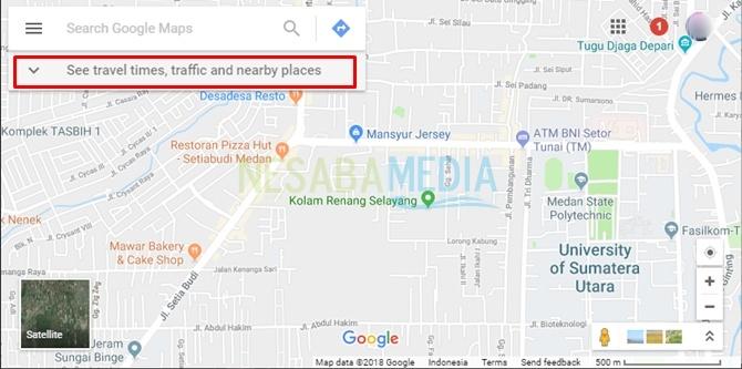 open google maps site