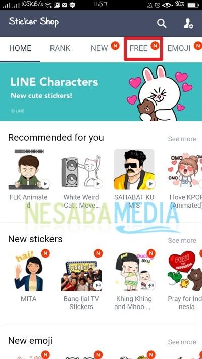 Begini Cara Mendapatkan Sticker LINE di HP Android, Dijamin