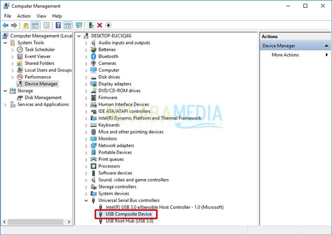 select usb - cara mengatasi USBnot recognized
