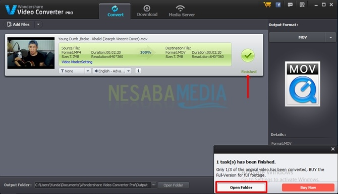Cara Convert Video ke Format Lain