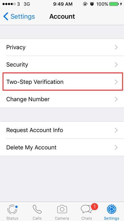 Cara Mengunci Aplikasi Whatsapp di iPhone