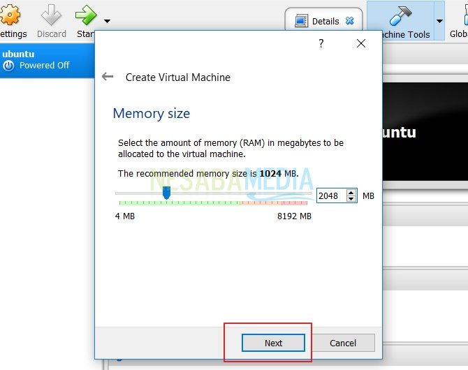 3-Cara Install Ubuntu di VirtualBox