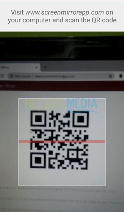 5 - scan kode QR