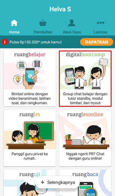 Cara 2 1 - pilih digitalbootcamp