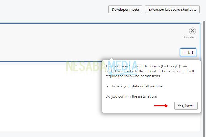 Cara 8 - cara install ekstensi Google Chrome di Opera