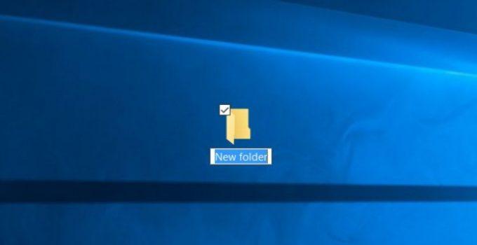 """Cara Mengubah Default """"New Folder"""" Saat Membuat Folder Baru"""