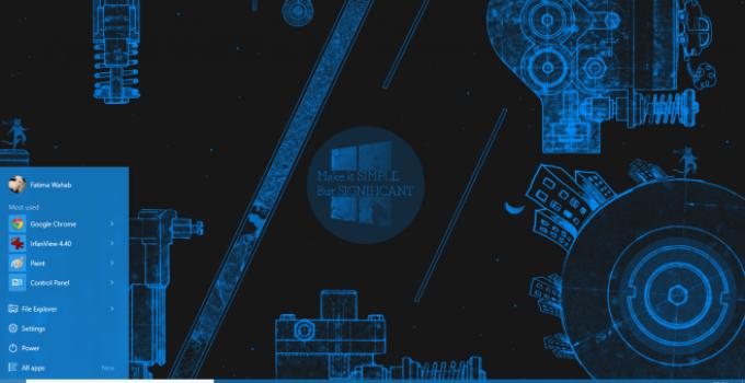 cara meningkatkan kualitas gambar desktop background di Windows 10