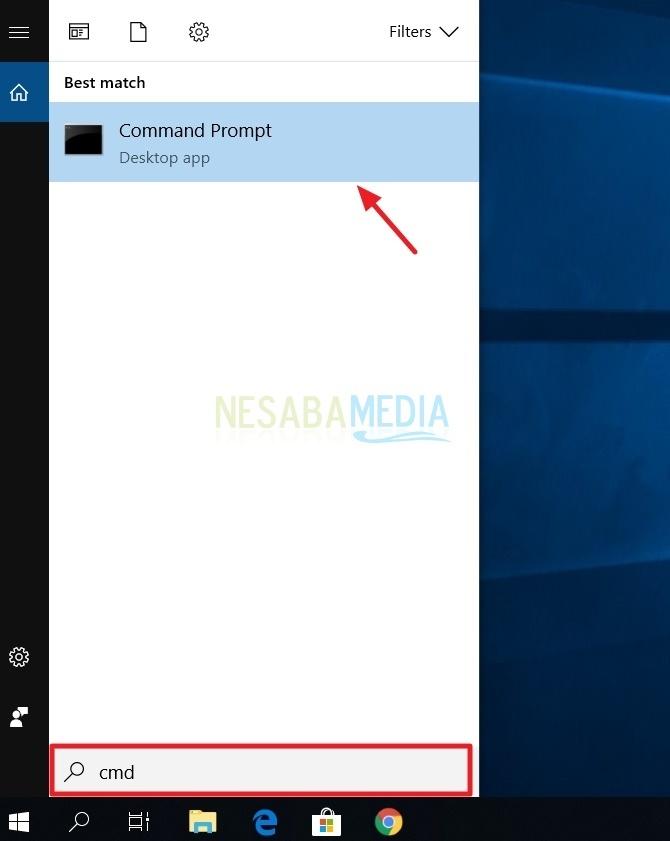 cara menampilkan dan menyembunyikan folder lewat command prompt (cmd)