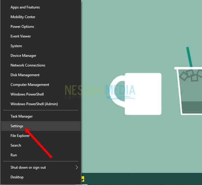 cara mengatur permission aplikasi di Windows 10
