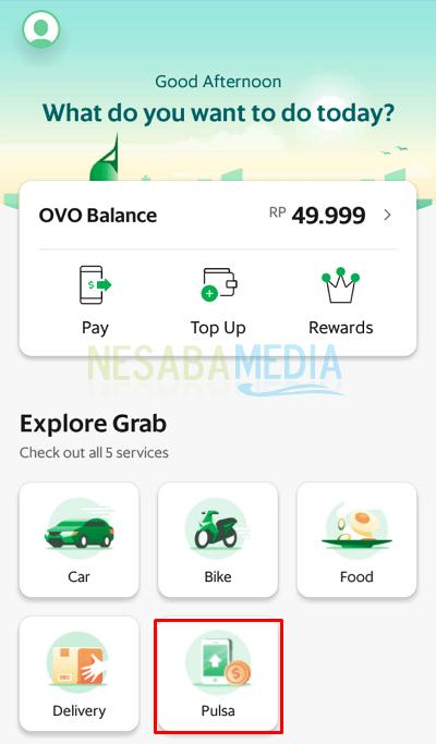 Layanan 5 1 - cara menggunakan aplikasi Grab