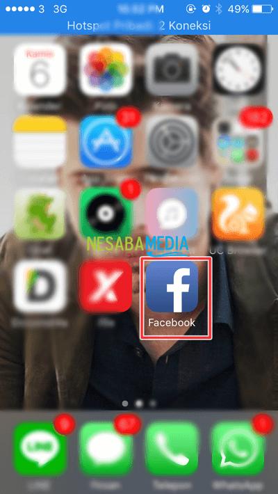Cara Pasang Foto Profil Sementara di Facebook dari iPhone