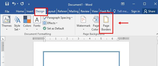 Cara Membuat Bingkai di Word dengan Gambar