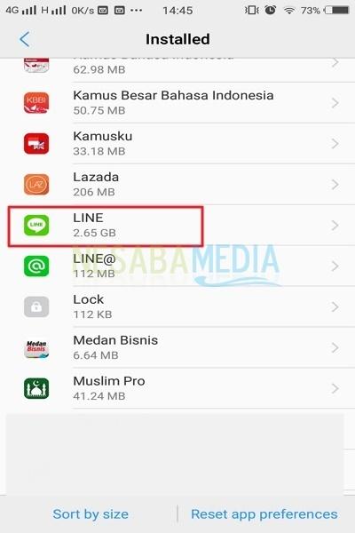 cara mengatur app permission di Android