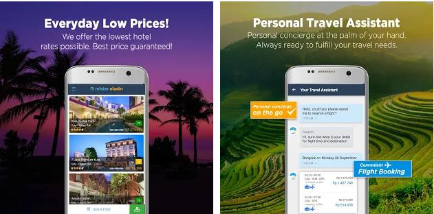Aplikasi Booking Hotel Terbaik