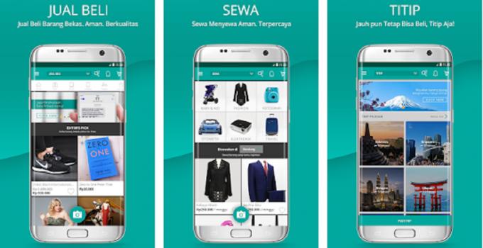 Aplikasi untuk Jual Beli Barang Bekas
