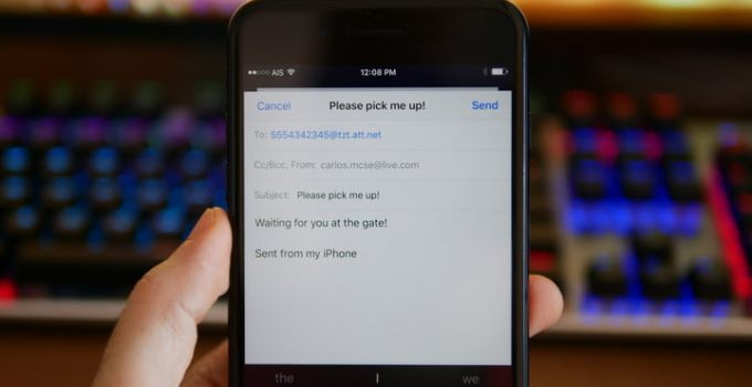 Cara Logout Email di Iphone