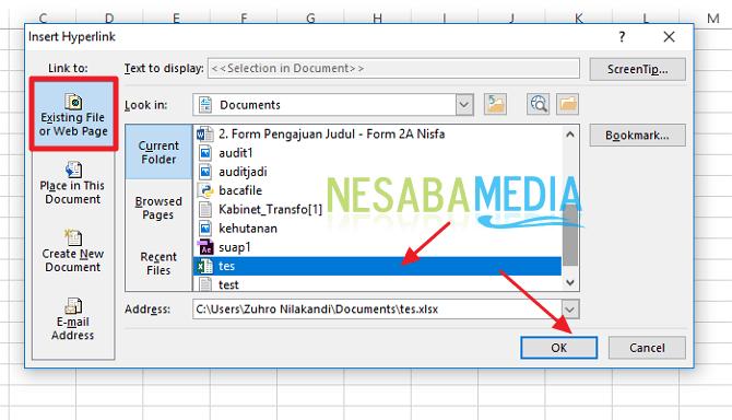 Cara Membuat Hyperlink di Microsoft Excel