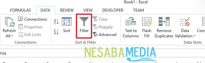 klik filter
