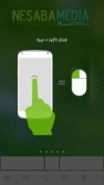 tutorial penggunaan remoute mouse