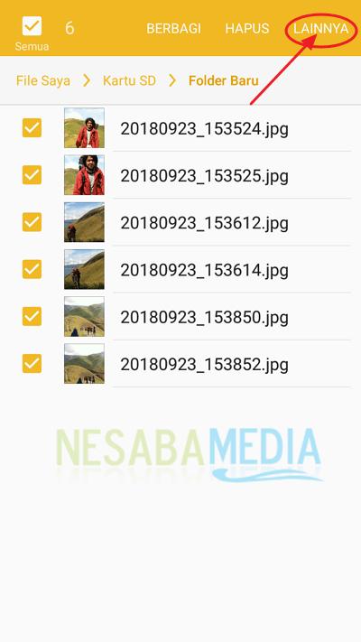 cara membuat folder baru di Android