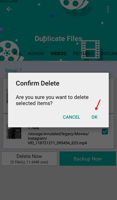 cara 6 - cara menemukan dan menghapus file duplikat di Android