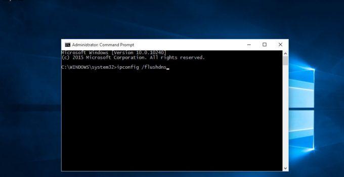 cara flush DNS di Windows