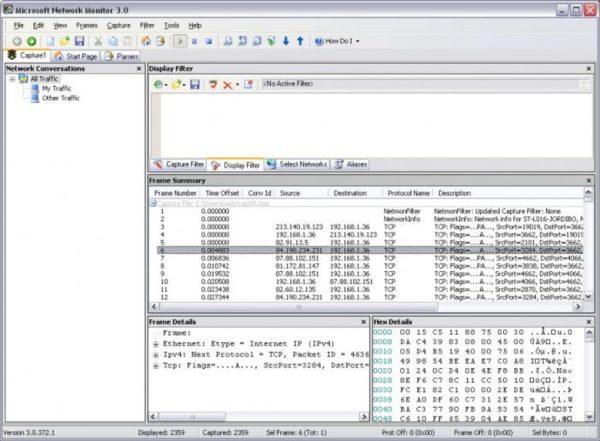 Microsoft Netrwork Monitor